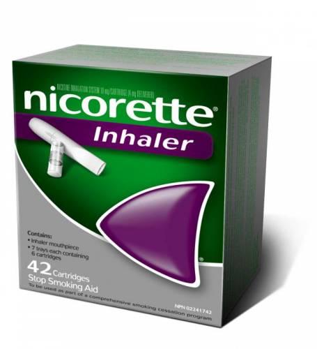 никотиновый ингалятор фирмы Pfizer